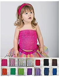 Top crochet moyen modèle 24 cm, 6 mois à 6 ans