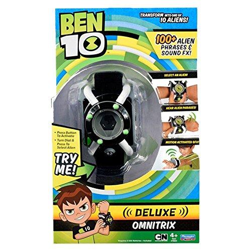 Ben 10 BEN05412 nbspDeluxe Omnitrix Uhr (englische Version), Black -