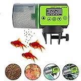 Ritapreaty Mangeoire Automatique pour Poissons avec écran LCD, Distributeur de Nourriture pour Poissons d'aquarium à...