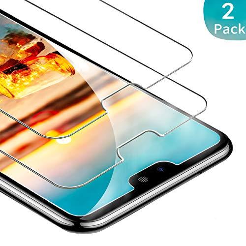 FUMUM Glasfolie für Huawei P20 Lite Folie, 5 mal Verstärkung Anti-Kratzen Gehärtetes Glas 9H HD Panzerglasfolie für Huawei P20 Lite Schutzfolie[Keine Bläschen][Anti-Kratzer] -2 Pack
