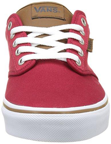 Vans Herren Mn Atwood Sneakers Rot (C&l)