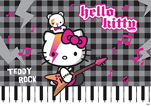 DISNEY LICENZA 458P8 Wallpaper Ciao Kitty Sanrio multi camera per i bambini 368 x 254 (Ciao Kitty Carta)