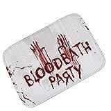 Knbob Vorleger Haustür Blut Hände