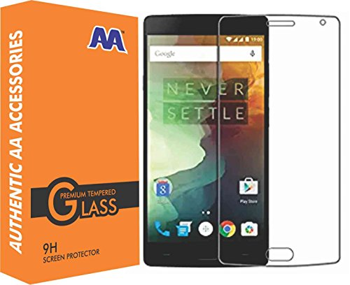 AA Accessories Tempered Glass Screen Protector for OnePlus 2 (Transparent)