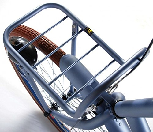 51Ok91FNasL - Salutoni Excellent 28 Inch 56 cm Woman Coaster Brake Ice Blue