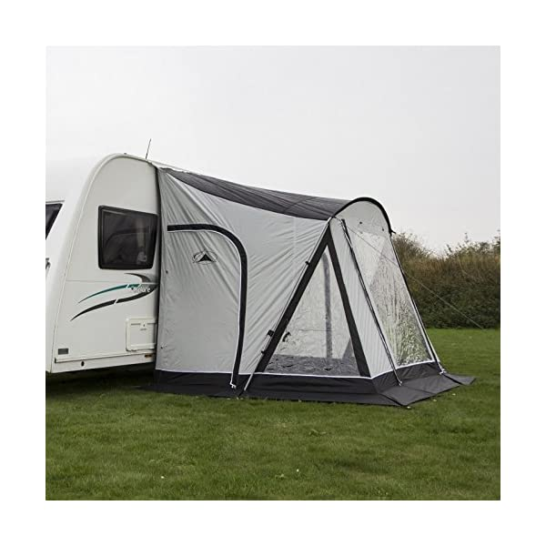 Sunncamp Swift Deluxe 260 Caravan Awning - Grey 4