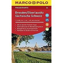 MARCO POLO Freizeitkarte Dresden, Oberlausitz, Sächsische Schweiz 1:110 000