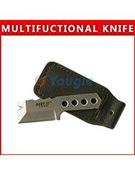Reixus(TM) Im Freien beweglichen NAVY1002 dem EDC Multifunktions-Multi-Messer Gadget Scraper Crowbar