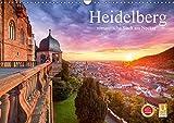 Heidelberg - romantische Stadt am Neckar (Wandkalender 2019 DIN A3 quer): Eine Reise durch das romantische Heidelberg (Monatskalender, 14 Seiten ) (CALVENDO Orte) - Jan Christopher Becke