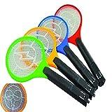 Takestop® - Raqueta eléctrica recargable para matar mosquitos y moscas