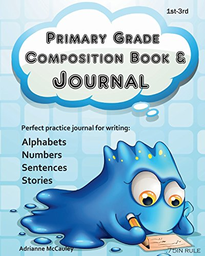 Primary Grade Composition Book and Journal
