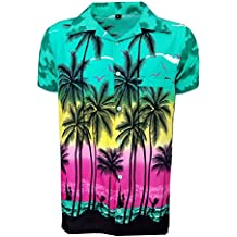 c5c4596af SAITARK Camisa Hawaiana para Hombre