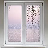 Artefact Dekofolie/Fensterfolie Struktur Kaestchen | statisch haftend (ohne Kleber) | verschiedene Größen