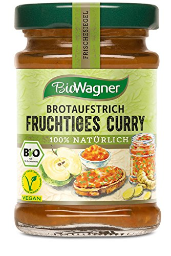 Bio Wagner Brotaufstrich Fruchtiges Curry