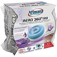 Ariasana Aero 360° Ricarica TAB Lavanda per dispositivo Aero 360° kit, assorbi umidità in Tab profumata rilassante, elimina i cattivi odori, aromaterapia, 1 TAB x 450g