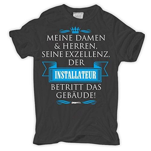 Spaß kostet Männer und Herren T-Shirt Seine Exzellenz DER Installateur
