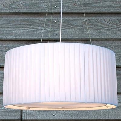 LOUNGE DESIGN HÄNGELEUCHTE SOBRIETA Ø 60 cm von XTRADEFACTORY Hängelampe Leuchte Lampe weiss