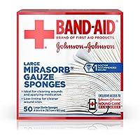 Johnson & Johnson Johnson band-aid mirasorb Gaze Schwamm, 4cm x 4cm, 50Pro preisvergleich bei billige-tabletten.eu
