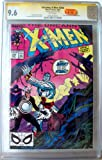 Uncanny X-Men #248 CGC grabbed 9.6, signed by Jim Lee