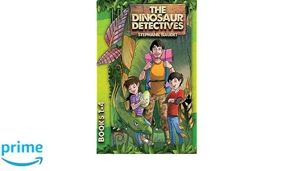 the dinosaur detectives books 1 4 amazon co uk stephanie baudet