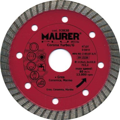 maurer-9012050-gres-disco-diamantato-115-millimetri