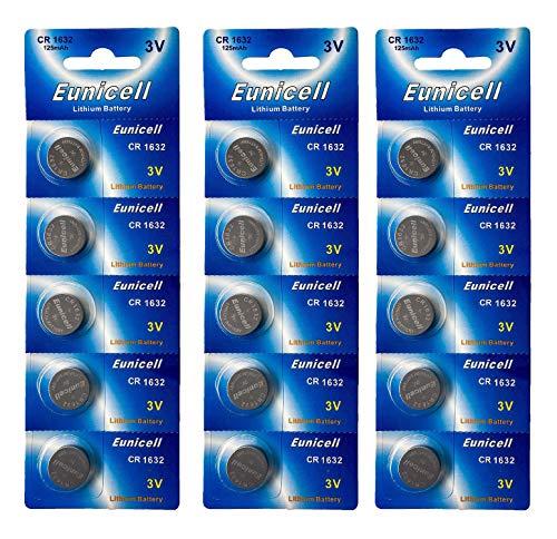3V Lithium Knopfzelle 120 mAh (3 Blistercards a 5 Batterien) EINWEG Markenware (FBA) ()