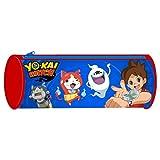 YO-KAI WATCH - Trousse scolaire cylindrique ECO Yo Kai Watch