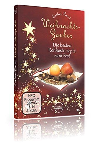 Preisvergleich Produktbild Rohkost Weihnachten vegan I Weihnachtszauber Esther Faust I roh vegan glutenfrei,  Rohkost Weihnachten I DVD