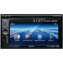 Sony XAV-602BT Autoradio 2DIN con Lettore DVD, Schermo touch da 6,1 Pollici, Aux In, USB, Bluetooth, Potenza massima di uscita 4x52W, Nero