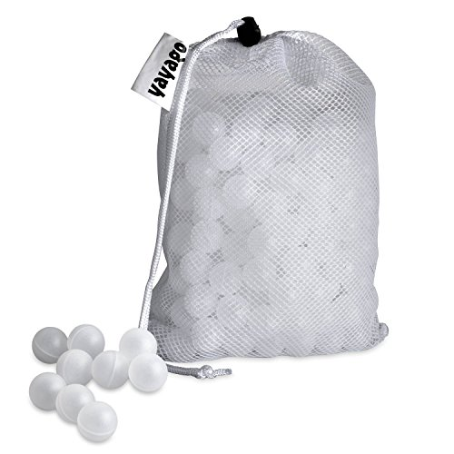 yayago Sous-Vide Isolationskugeln 250 Kugeln BPA-FREI inkl. Kordelzugtasche
