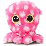 YooHoo & Friends Plüschtier Krake pink, Kuscheltier Oktopus mit Glitzeraugen ca. 20 cm