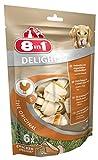 8in1 Delights Chicken Kauknochen, Größe S, gesunder Kausnack für kleinere Hunde von 2 bis 27 kg 6 Stück (1 x 210 g)