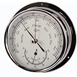Barigo Regatta Barometer/Thermometer chrome