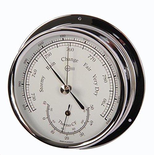Barigo Barómetro/Termómetro modelo Regatta cromo