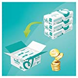 Pampers Baby-Dry 174 Nappies with 3 Absorbing Channels, 8 - 16 kg, Size 4