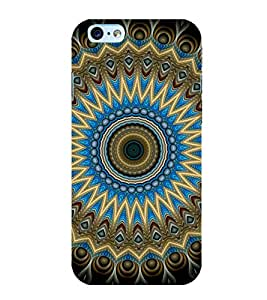 Printtech Iphone 6 / 6S Cover, Original Slim Flexible Shockproof Abstract Pattern Back Case Cover