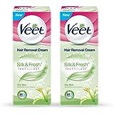 Veet-Hair-Removal-Cream-for-Dry-Skin - 25 g (Pack of 2)