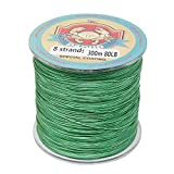 8 Strands Braided Fishing Line 300M (327 Yards) 10lb-108lb Abrasion Resistant, Highly Sensitivity