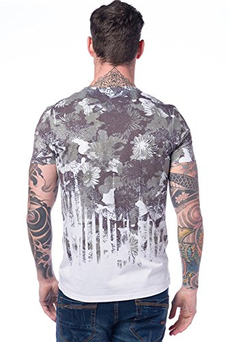Koroshi Herren T-Shirt Kaki