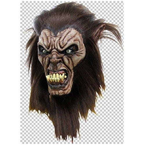 Wolfman Maske (Wolfsmensch Maske Head & Hals)