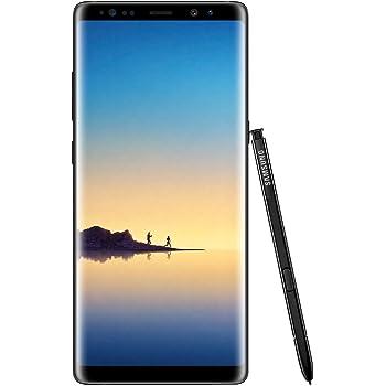 Samsung Galaxy Note8 Smartphone débloqué 4G (Ecran : 6,3 Pouces - 64 Go - 6 Go RAM - Simple Nano-SIM - Android Nougat 7.11) Noir Carbone