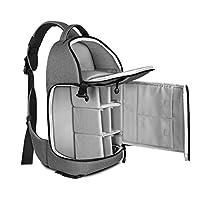 Caractéristiques du produit: * Deux dans un design: il peut être utilisé soit comme un sac d'élingue de caméra ou un sac de loisirs. * Grand volume: le compartiment principal est conçu pour s'adapter à des appareils photo reflex, lentilles et le comp...