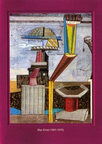 Artoz Kunstkarte Ernst: Ohne Titel, Format B6, ein Set besteht aus Einlegeblatt, Kuvert und Karte - verpackt zu 6 Sets - Preis für 6 - 6 Halloween Titel