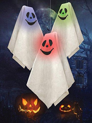 Farbe ändern Light Up Ghosts (An Kostüme Größte Halloween Auswahl)