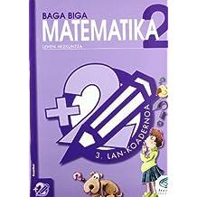 Txanela 2 - Matematika 2. Lan-koadernoa 3 - 9788483318560