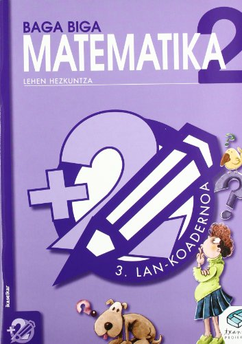 Txanela 2 - Matematika 2. Lan-koadernoa 3 - 9788483318560 por Jesus Mari Goñi Zabala