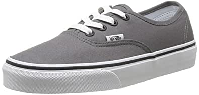 Vans Authentic Unisex-Erwachsene Sneakers, Grau (Grau (Pewter/Black)), 34.5 EU
