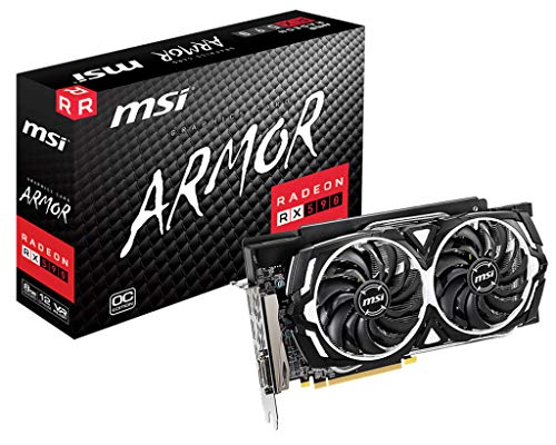 MSI V341-295R scheda video Radeon RX 590 8 GB GDDR5