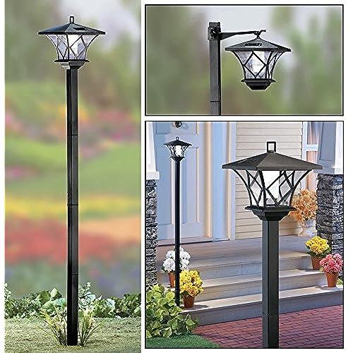 solar with lamp column led standard lights uk posts light post sectional