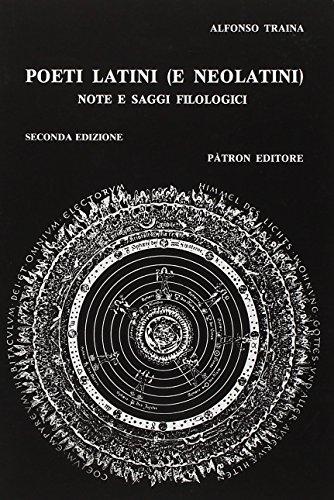 Poeti latini e neolatini. Note e saggi filologici: 1